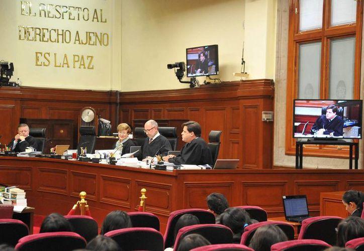 La Suprema Corte de Justicia de la Nación declaró inconstitucional la Ley de Instituciones y Procedimientos Electorales del Estado de Oaxaca. (Notimex)