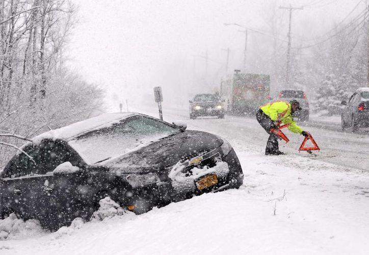 """la tormenta de nieve """"Nemo"""", que podría ser la peor de este invierno. (Agencias)"""