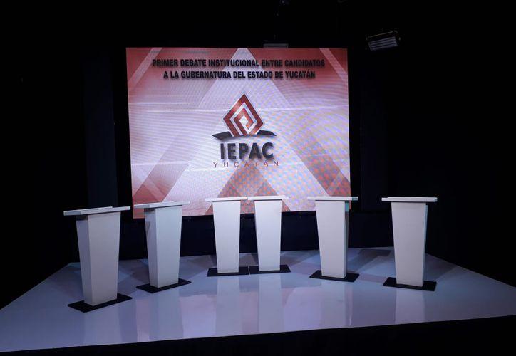 El debate es organizado por el Instituto Electoral y de Participación Ciudadana (Iepac), e iniciará a las 20:00 horas en las instalaciones de Canal 2 de Grupo SIPSE. (SIPSE)