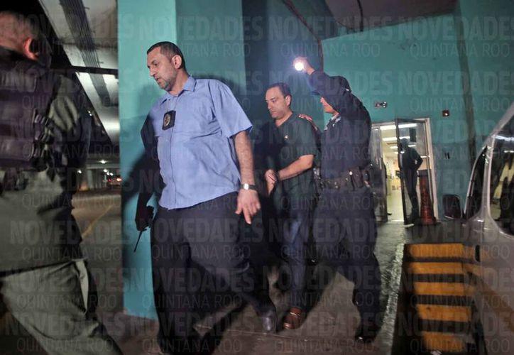 Roberto Borge fue notificado que su extradición fue concedida a México. (Jesús Tijerina/SIPSE)