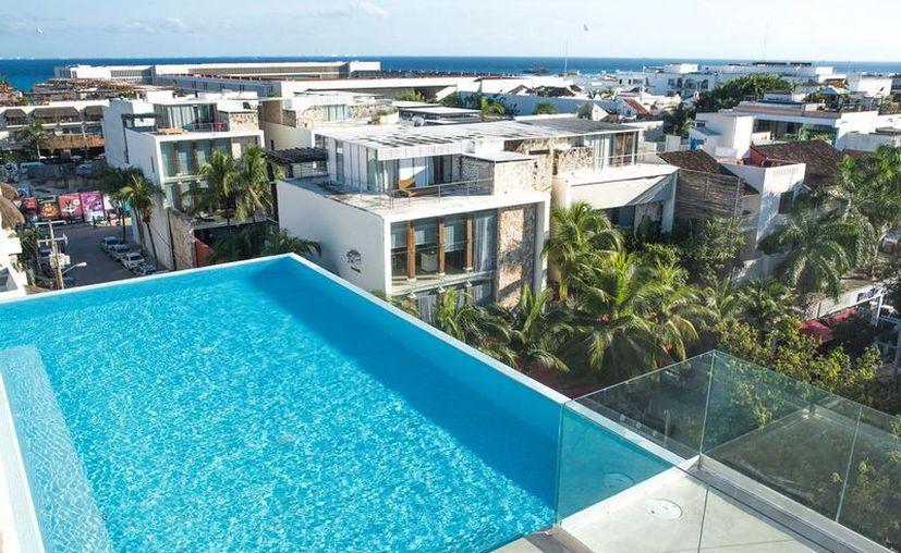 El Apartamento Suites Quinto Sol, en Playa del Carmen destaca entre los favoritos de los turistas. (Foto: Contexto)