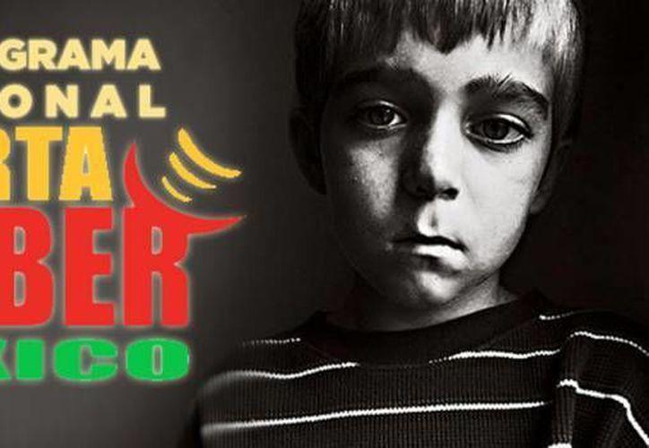 La PGR indicó que en 2013 se emitieron 102 Alertas Amber en todo el territorio nacional. (Archivo/SIPSE)