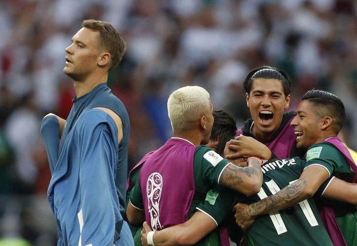Durante el México vs Alemania se escuchó el 'eeeh, pu...! (Foto: AP)