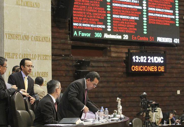 Los diputados enviaron a los congresos locales la reforma educativa para su aprobación. (Notimex)