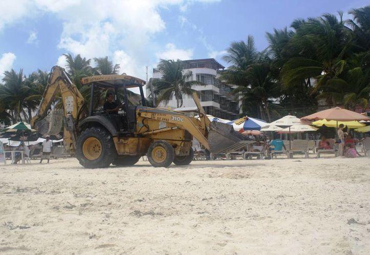 La Zofemat espera adquirir más de un millón de pesos para prevenir otro recale de sargazo en las costas de Playa del Carmen. (Octavio Martínez/SIPSE)