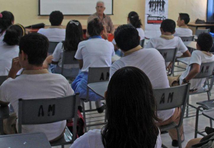 El proyecto tendrán impacto en poco más de dos mil estudiantes. (Archivo/SIPSE)