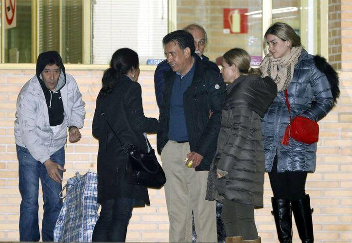 Humbero Moreira tras ser liberado en España, donde se le detuvo acusado de lavado de dinero. (Archivo/Agencias)