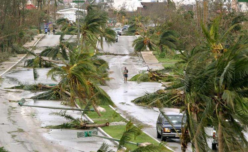 Los huracanes de mayor intensidad son una advertencia de futuras catástrofes, advierte la Organización Meteorológica Mundial.  (Archivo)