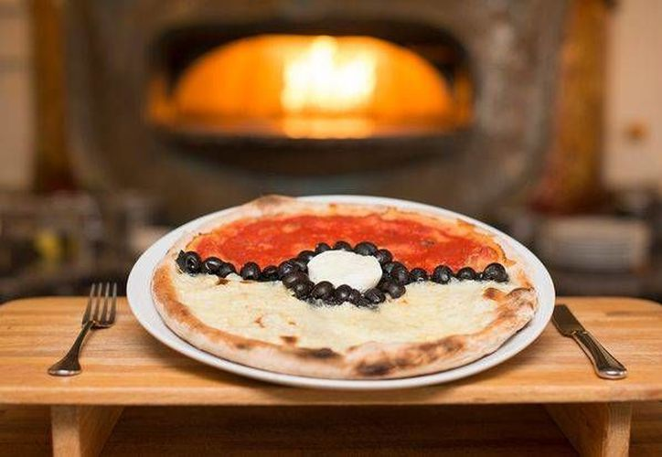 La pizza pokemón esta disponible en un restaurante de la avenida Palenque. (Contexto/Internet)