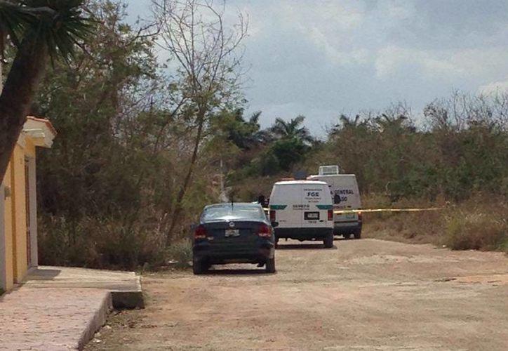 El cuerpo de un hombre que vestía ropa deportiva fue encontrado esta mañana en el fraccionamiento Montebello. (Milenio Novedades)
