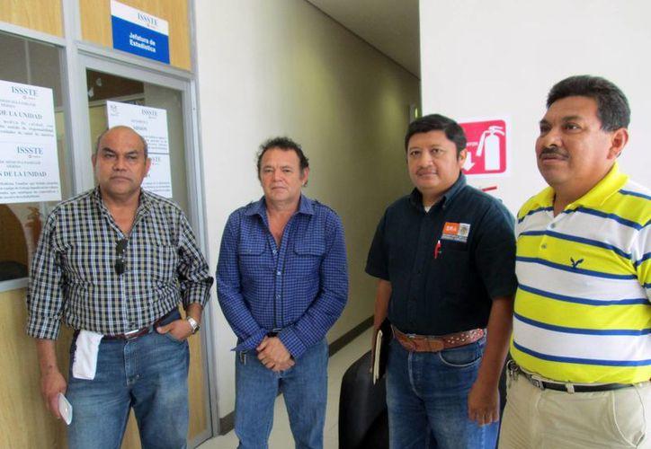 Representantes de sindicatos federales. (SIPSE)