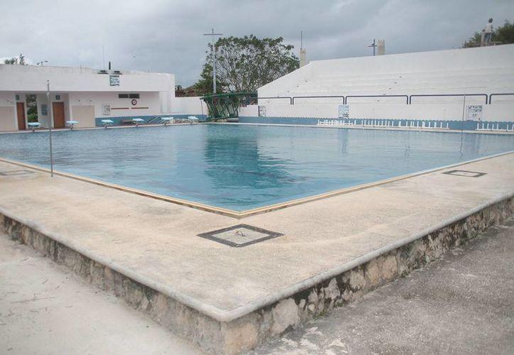 La Dirección de Deportes municipal informó que la obra tiene un avance del 50%. (Julián Miranda/SIPSE)