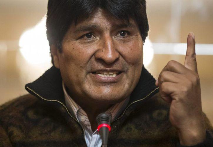 Morales señaló que Usaid tenía fines políticos en sus programas. (EFE)