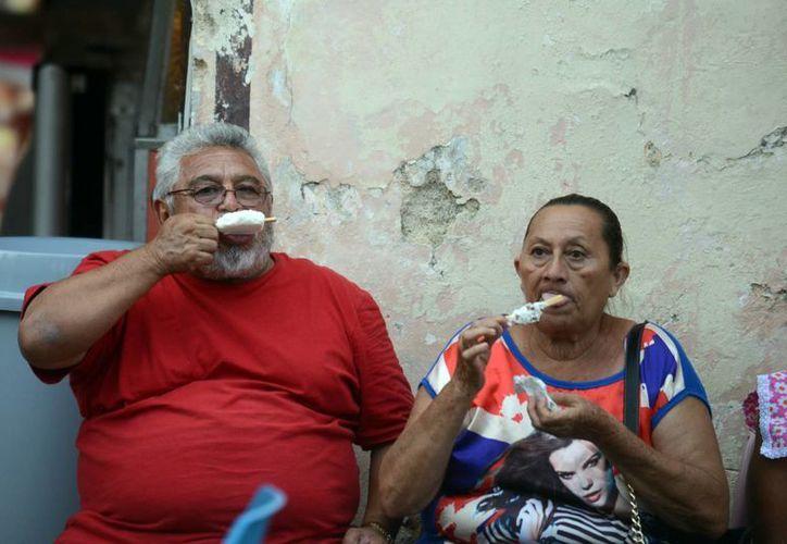 El calor se mantiene en la Península de Yucatán. (Milenio Novedades)