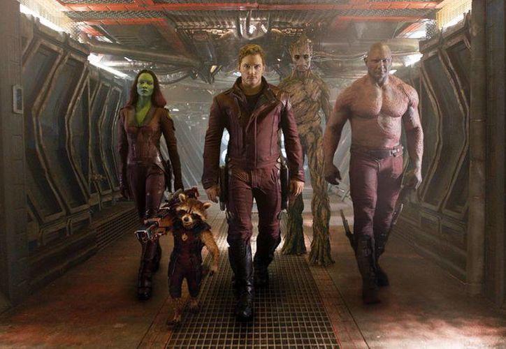 El filme 'Los Guardianes de la Galaxia' se estrena este viernes 1 de agosto. (AP)