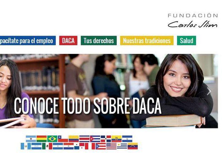 El portal Acceso Latino, patrocinado por la Fundación Carlos Slim, ofrece a los latinos herramientas educativas y de integración a la cultura de los Estados Unidos. (accesolatino.org)