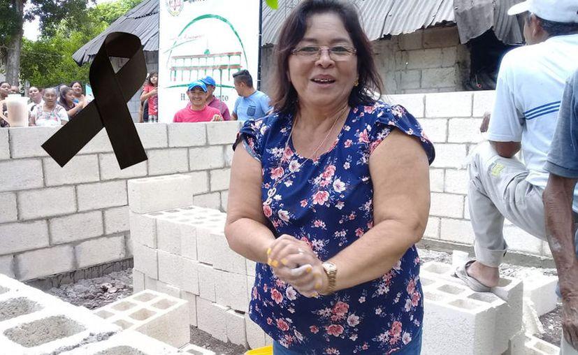 Raymunda Che Pech estuvo internada en el hospital desde hace 10 días. (Imagen tomada de Facebook)