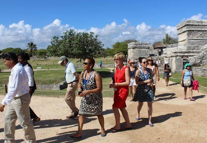 Tulum y Cobá fueron los más visitados, en Semana Santa. (Foto: Redacción/SIPSE)