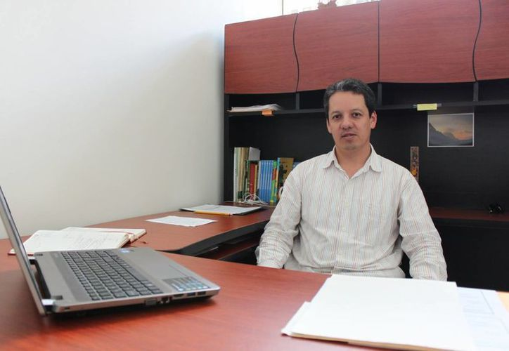 Remigio Cabral Dorado, responsable de  Aval Ciudadano, por parte de la Uqroo. (Yenny Gaona/SIPSE)