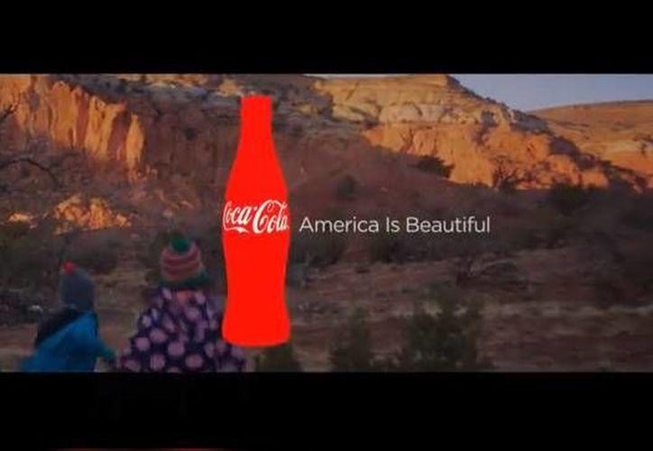 Los autores del anuncio, de solo un minuto de duración, querían mostrar la diversidad cultural de EU. (YouTube)