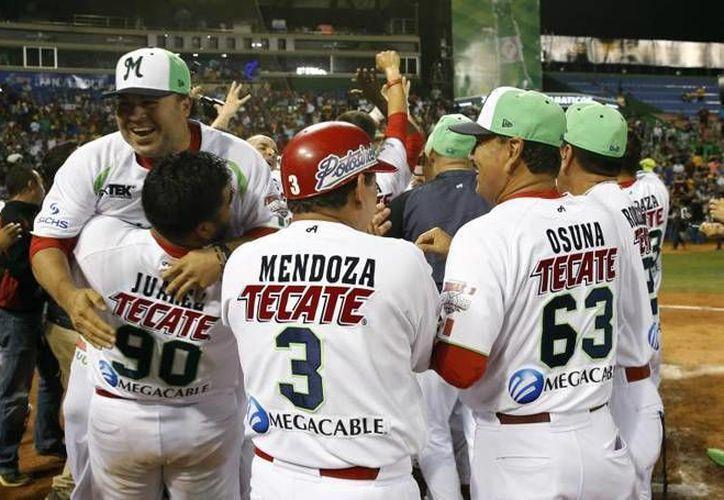 Los Venados de Mazatlán consiguieron este domingo el título de la Serie del Caribe en Santo Domingo, República Dominicana con un 5-4 ante Tigres de Aragua de Venezuela. (EFE)