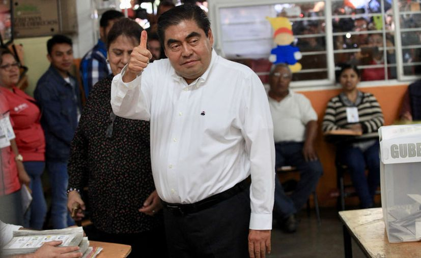 El ex legislador Barbosa Huerta es el virtual gobernador de la entidad. (Redacción)