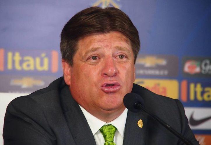 A pesar de los fracasos recientes, Miguel Herrera confía en llegar a Rusia como DT del Tri. (Notimex)