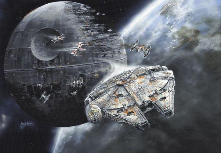 'Death Star' arma espacial que permite destruir planetas enteros en pocos segundos. (mirror.co.uk)