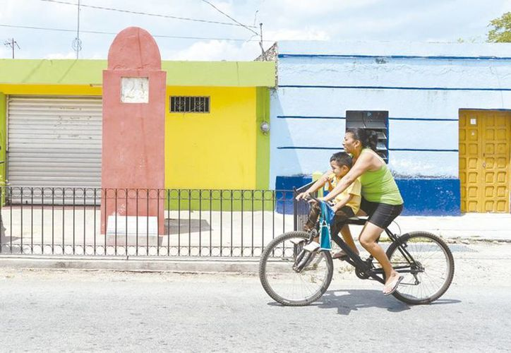 En la imagen un Leguario que hace referencia al viaje de Carlota por Yucatán. (Milenio Novedades)