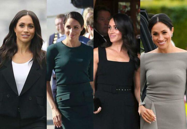 El alto costo de vestir a la moda royal de Meghan Merkle. (internet)