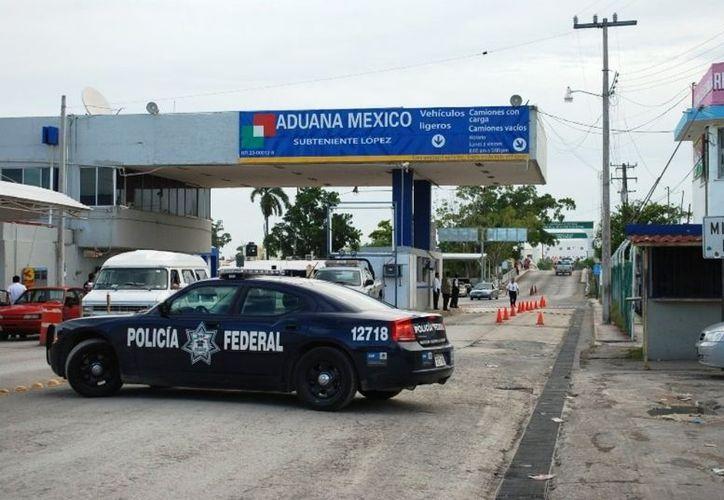 Consideran que la desaparición de la Policía Fronteriza, en la ribera del Río Hondo, no fue una estrategia atinada. (Enrique Mena/SIPSE)