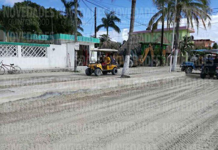 Preparan un plan de manejo de desarrollo urbano provisional en la isla. (Ivette Ycos/SIPSE)
