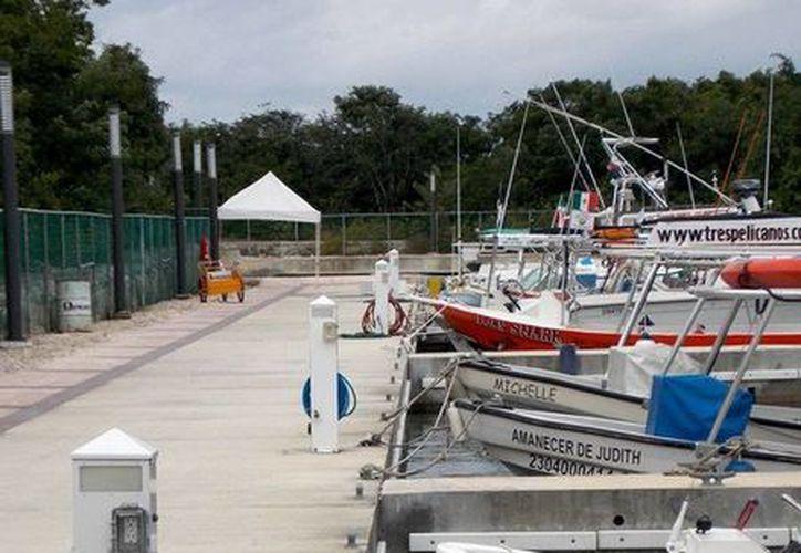 Lo usuarios de las instalaciones de la nueva Marina de Cozumel se dicen satisfechos. (Cortesía)