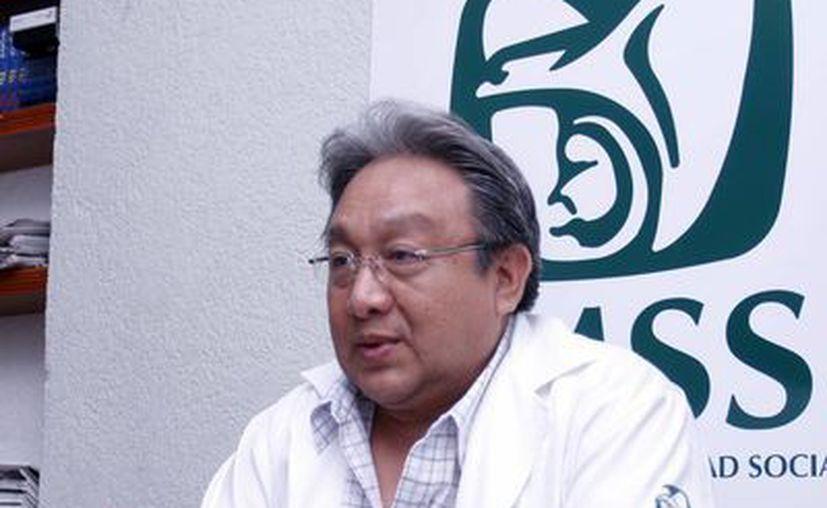"""""""Los avances tecnológicos médicos han permitido al sistema de salud desarrollar métodos diagnósticos más precisos y oportunos"""", Gaspar Ley Chi, Coordinador del IMSS. (SIPSE)"""