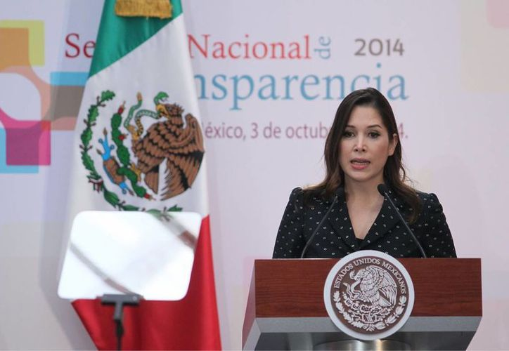 La titular del IFAI, Ximena Puente de la Mora. (Archivo/Notimex)