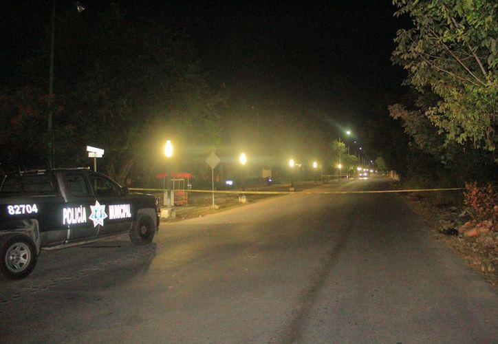 Desconocidos abrieron fuego contra un hombre en la colonia Bellavista; autoridades iniciaron la investigación correspondiente. (Redacción/SIPSE)