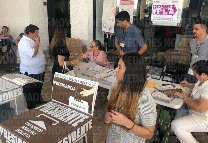 Han sido instaladas 63.45% del total de las casillas distribuidas en los municipios de Othón P. Blanco, Bacalar, José María Morelos y Felipe Carrillo Puerto. (Redacción/SIPSE)