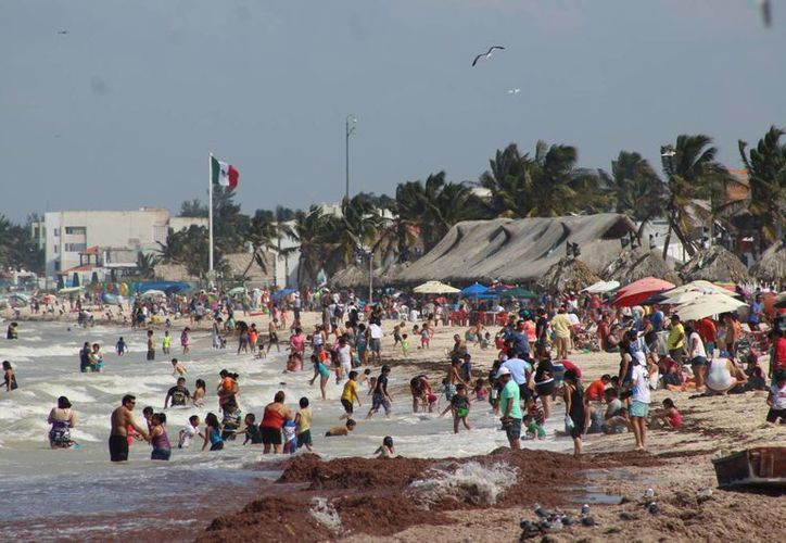 La Conagua pronostica una calurosa semana con algunas lluvias en Yucatán. (Foto: Gerardo Keb/SIPSE)