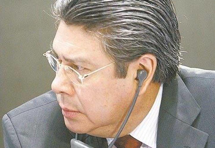 Samuel Aguilar no considera que haya ganado el asbtencionismo. (Milenio)