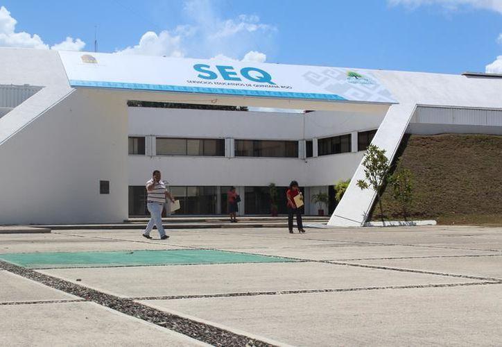 La deuda de la SEyC incrementó más de 14 millones de pesos, debido a los intereses, no por la falta de pago, aclara la titular de la dependencia, Marisol Alamilla Betancourt.  (Redacción/SIPSE)