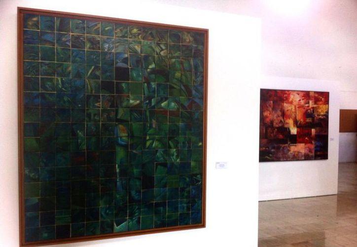 En la muestra Abstracción destacan obras de Alfredo Lugo y Ralf Walter. (Milenio Novedades)
