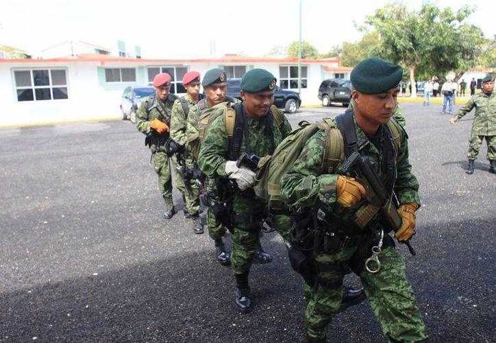 La aportación del Ejército mexicano resulta invaluable dentro de la historia de Quintana Roo. (Ernesto Neveu/SIPSE)