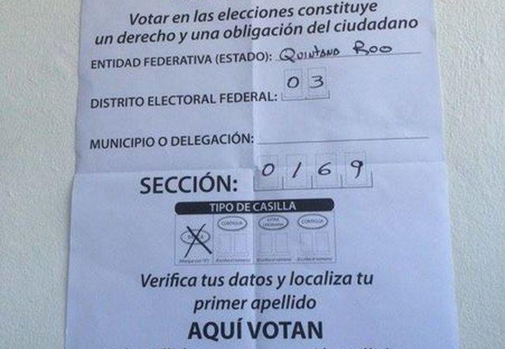 Las casillas ubicadas en el Tecmilenio fueron suspendidas debido a la falta de esclutadores. (Victoria González/SIPSE)
