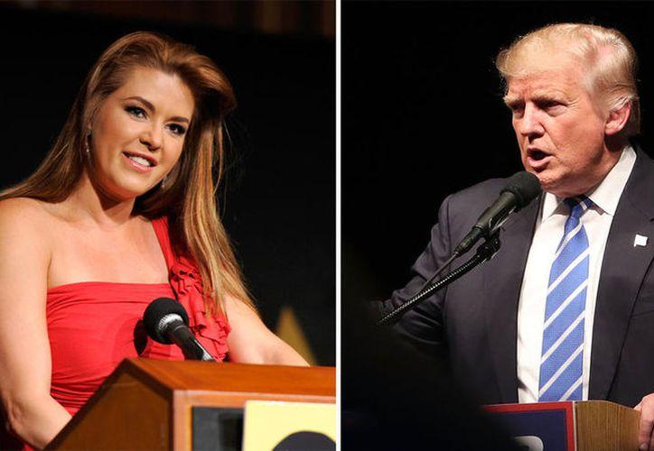 Trump trató de modificar el contrato de Alicia Machado, modelo y actriz para obligarla a relacionarse con él. (Vanguardia MX)