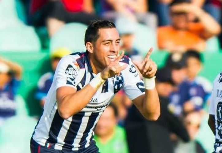 Roberto Funes Mori fue la figura para Monterrey al marcar en dos ocasiones a los minutos siete y 60. (Liga MX)