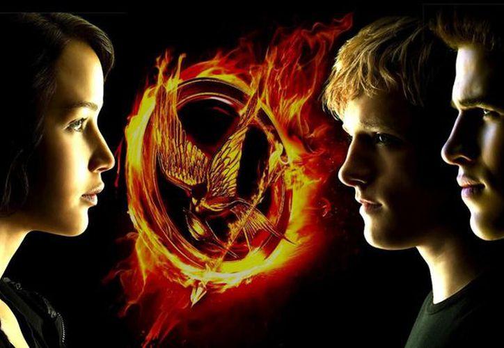 'Catching Fire', segunda parte de 'Los juegos del hambre', obtuvo una ganancia prodigiosa de 75 millones de dólares. (Internet)