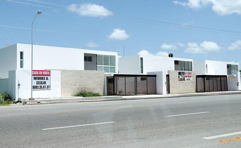 En las inmediaciones de Conkal se han levantado desarrollos inmobiliarios de alta plusvalía. (Jorge Acosta/Milenio Novedades)
