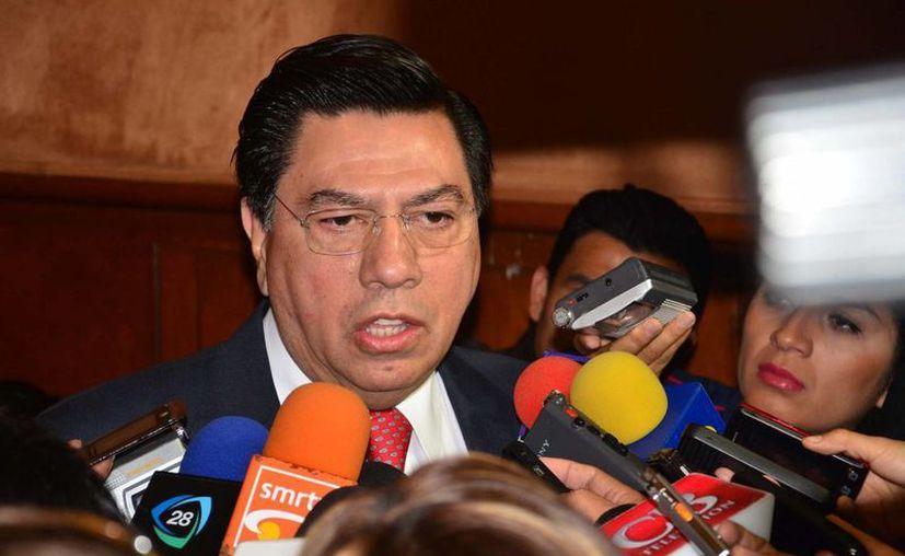 Insistió en que no ha fracasado la estrategia de seguridad que impulsan la Federación y el gobierno de Michoacán, según afirmó Jesús Reyna García. (Archivo SIPSE)