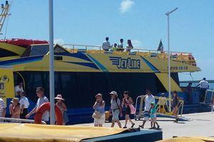 Excelente afluencia turística en Isla Mujeres