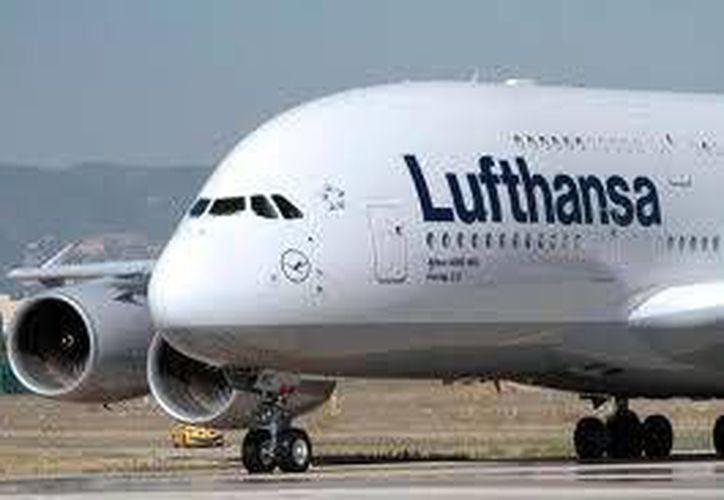 Las autoridades dierona conocer que Lufthansa es una de las grandes líneas aéreas de Europa. (Cortesía)